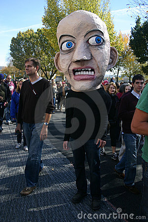 Fear (Rally to Restore Sanity and/or Fear) Editorial Stock Photo