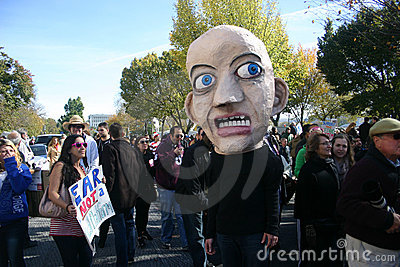 Fear (Rally to Restore Sanity and/or Fear) Editorial Stock Image