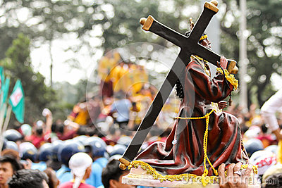 Feast of Black Nazareno, Philippines Editorial Image