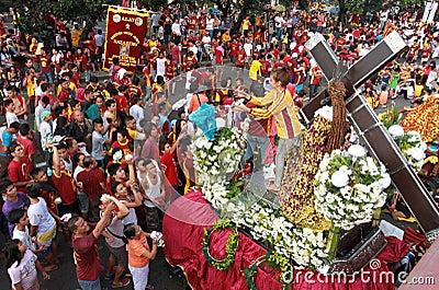 Feast of Black Nazareno, Philippines Editorial Stock Photo