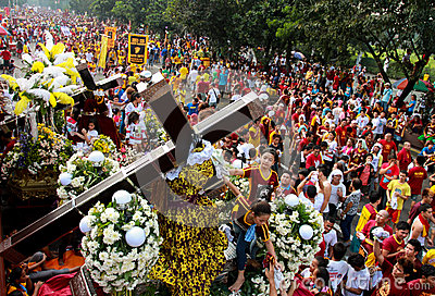 Feast of Black Nazareno, Philippines Editorial Photography