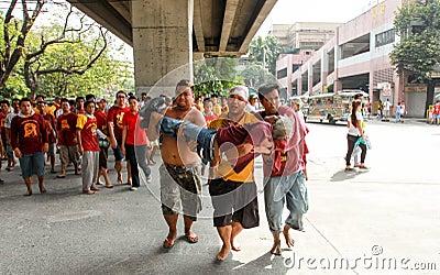 Feast of Black Nazareno, Philippines Editorial Photography