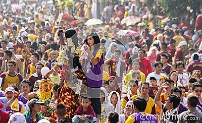 Feast of Black Nazareno, Philippines Editorial Photo
