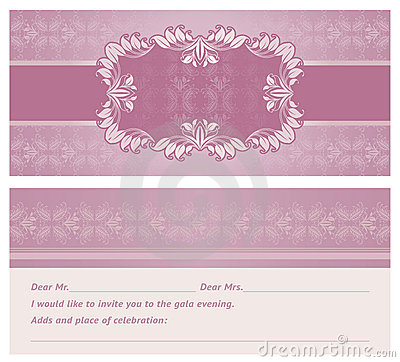 Feast-invitation, background, template