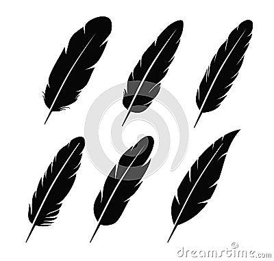 Free Feather Icon Stock Photo - 46765510