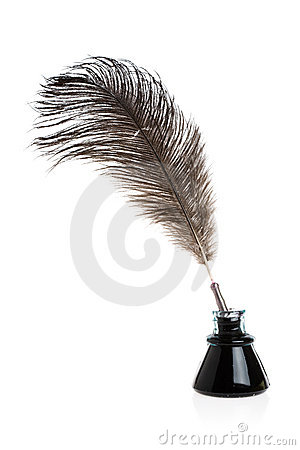 Free Feather Quill Royalty Free Stock Photo - 4396805