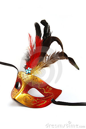 Free Feathered Mask Stock Photography - 16167662