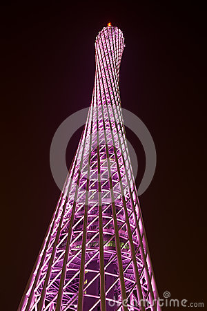Feature of Canton Tower Editorial Photo