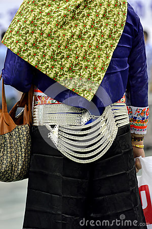 Featured women dress of Chinese Southeast coast minority