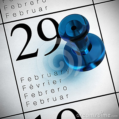 February the 29th