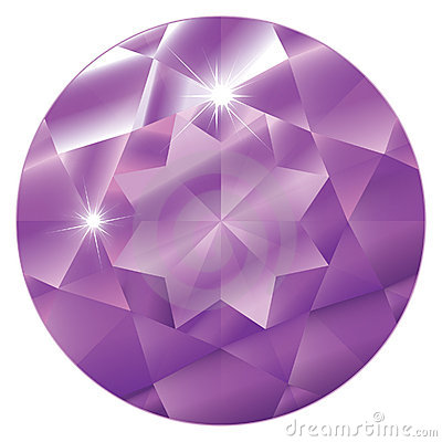 February Birthstone-Amethyst