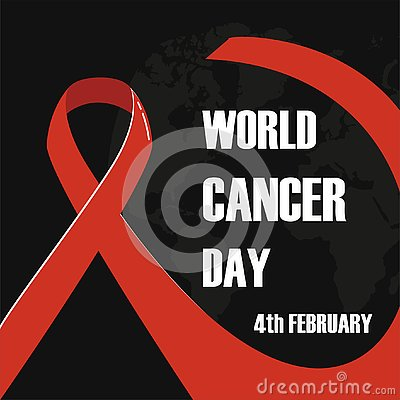 February 4, World Cancer Day vector illustration Vector Illustration