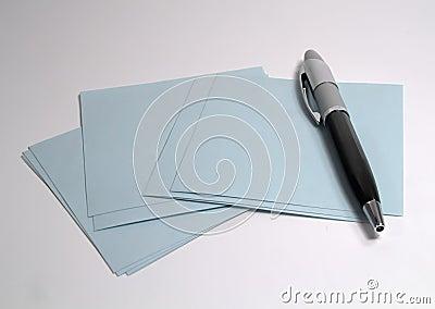 Feder und Papier