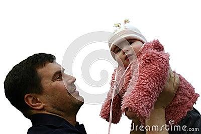 Feder und Tochter