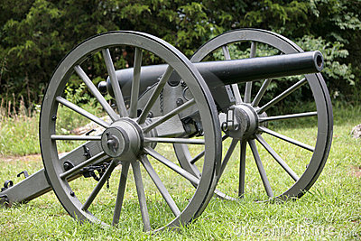 Federal Cannon At Stones River