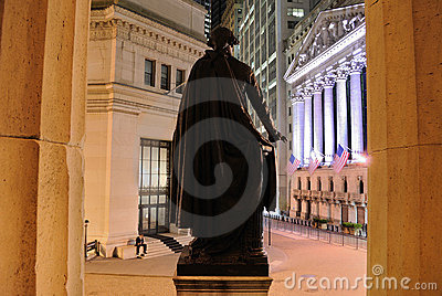 Federal Hall Editorial Photo
