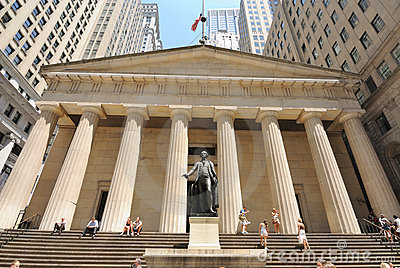 Federal Hall Editorial Stock Photo
