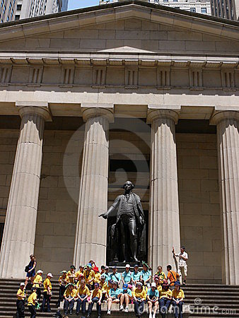 Federal Hall, Manhattan Editorial Photography