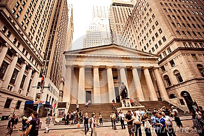 Federal Hall in New York City Editorial Image
