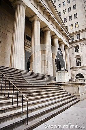 Federal Hall NYC Editorial Photo