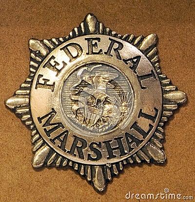 Federal Marshall Badge