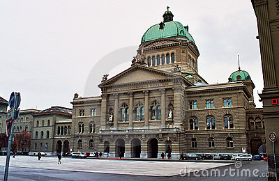 Federal palace of Bern, sedates of the Swiss gove