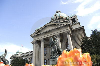 Federal Parliament Building, Belgrade, Serbia,