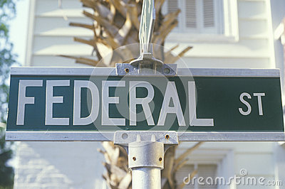 Federal Street  sign