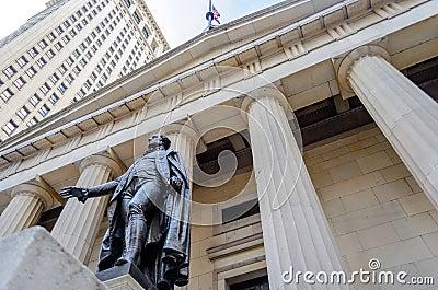 Federale Zaal, de Stad van New York