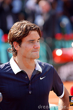 Federer Roger # 2 in ATP 2008 Editorial Photo