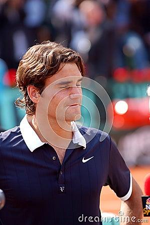 Federer Roger # 2 in ATP 2008 Editorial Photo
