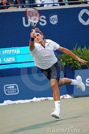 Federer Roger (SUI) at Rogers Cup 2008 (107) Editorial Stock Image