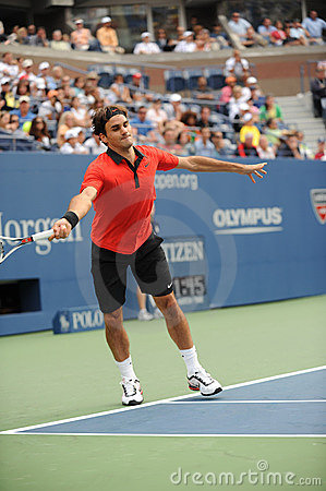 Federer at US Open 2009 (34) Editorial Image