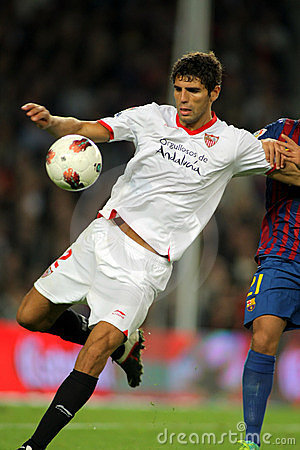 Federico Fazio of Sevilla FC Editorial Photo