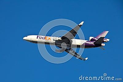 FedEx MD-11 Editorial Image