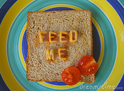 Feed me words on toast