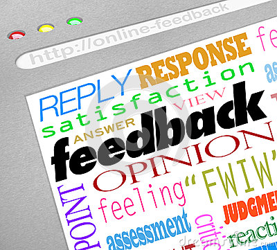 Feedback Online Survey Answers Opinions