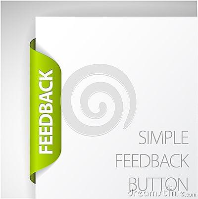 Free Feedback Sticker Royalty Free Stock Photography - 18723587