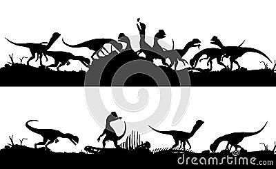 Feeding dinsosaurs