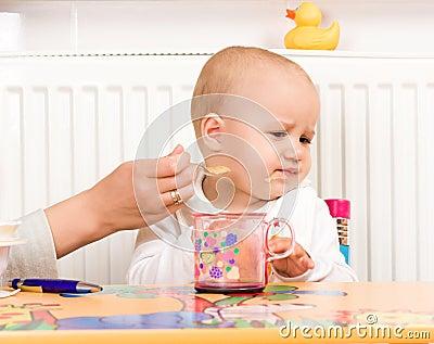 Feeding procedure