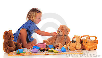 Feeding Teddy
