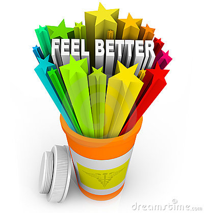 Feel Better - Prescription Medicine Beats Sickness