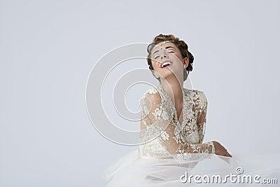 Feeling goog as bride