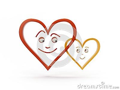 Feeling heart