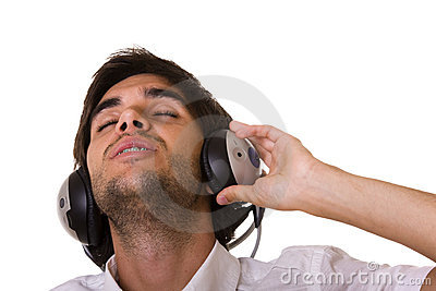 Feeling The Music Stock Photography - Image: 8457122