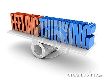 Feeling and Thinking balance.