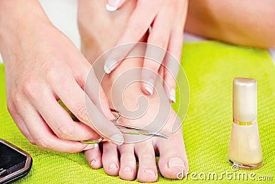 Feet beauty treatment