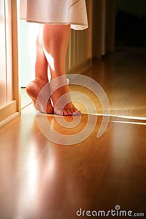 Free Feet Flooring Floor Stock Photos - 5223143