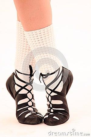 Feet irish dance shoes