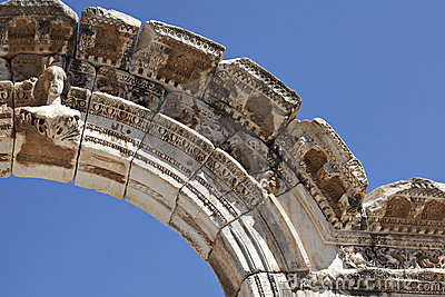 Fehlschlag von Hadrians Bogen, Ephesus